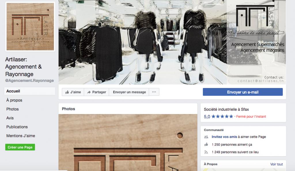 Agencement boutique tunisie algérie maroc